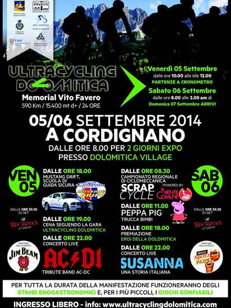 Ultracycling Dolomitica Programm